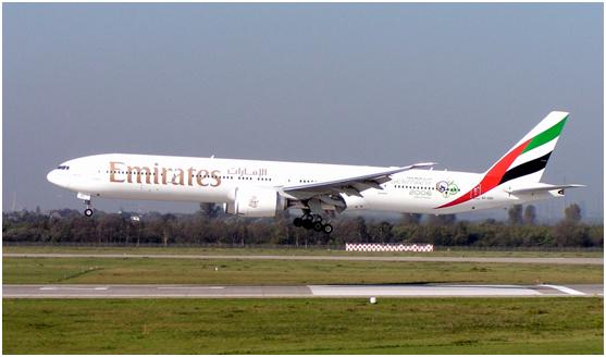 阿联酋航空拥有最年轻及现代化的机队